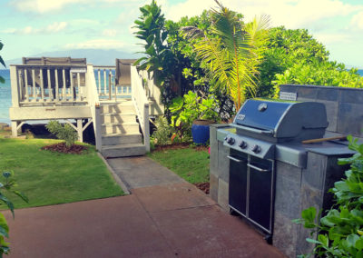 Maui Sands II Observation Deck and BBQ